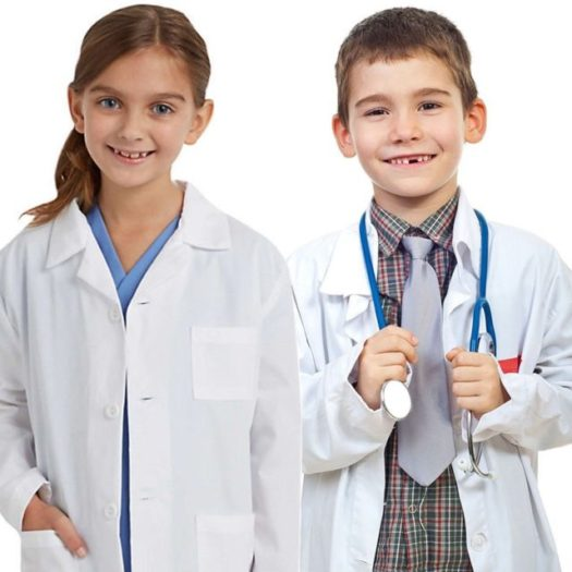 Natural Uniforms Childrens Lab Coat