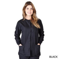 Natural Uniforms Warm Up Scrub Jacket