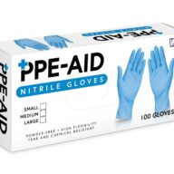PPE Aid Nitrile Gloves